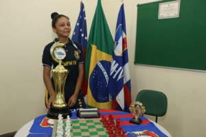 Aluna representará o Amazonas em Campeonato Brasileiro de Xadrez