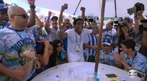 Beija-flor é a campeã do carnaval no Rio de Janeiro