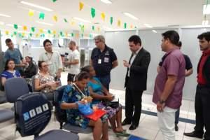 Blitz do Consumidor realiza fiscalização em agência bancária de Manacapuru