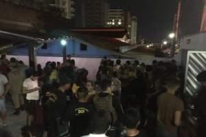 Casa de funk clandestina tem equipamentos apreendidos em condomínio no Adrianópolis