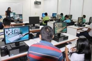Cetam inscreve para cursos a distância