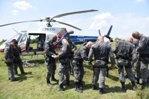 COE realiza treinamento em aeronaves para formação de policiais de elite