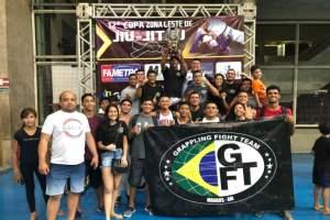 Copa Zona leste de Jiu-Jitsu premia três academias em sua 12ª edição