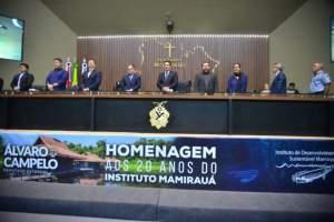 Deputado realiza sessão de homenagem aos 20 anos do Instituto Mamirauá