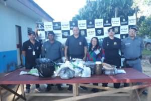 Drogas são incineradas pela Polícia Civil em Pauini