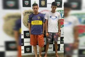 Dupla é presa após roubar celular na zona Norte de Manaus