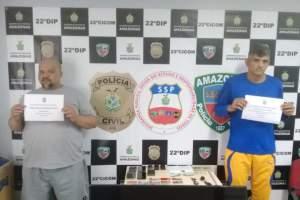 Estelionatários são presos na Ponta Negra zona Oeste de Manaus