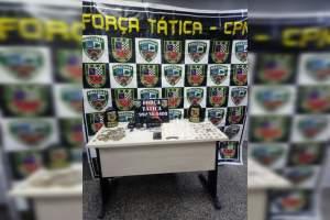 Força Tática detêm homem com drogas no bairro Alvorada