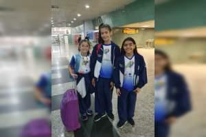 Ginastas representam o Amazonas em Campeonato Brasileiro no Rio de Janeiro