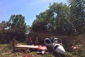 Helicóptero da SSP resgata vítimas de acidente aéreo em Autazes
