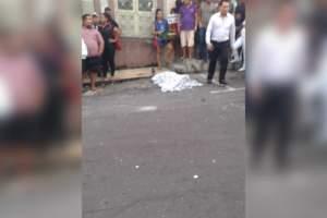 Homem é executado a tiros enquanto lanchava no Centro de Manaus