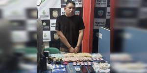 Homem é preso com drogas en ação da Polícia no interior