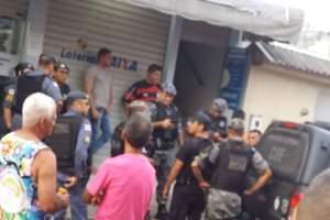 Homem é preso por tentar roubar lotérica no Alvorada