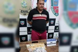 Homem é preso vendendo drogas no Porto de Manacapuru