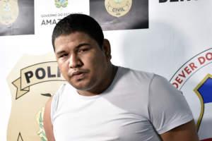 Homem procurado por homicídio é preso em Manaus