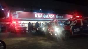 Homem tenta roubar posto de gasolina mas é morto a tiros em Manaus