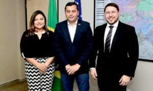 Joana Darc é a nova líder do governo Wilson Lima