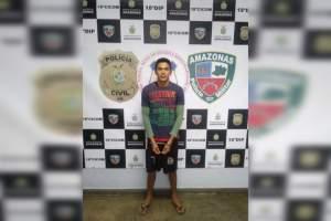 Jovem é preso com arma e drogas no Santa Etelvina