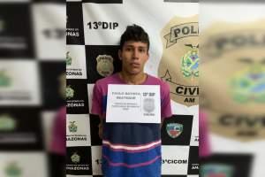 Jovem é preso com armas e drogas na zona Norte de Manaus