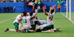 Manaus FC vence o Caxias por 3 a 0 e ganha vaga na série C