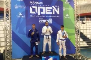 Manaus Open internacional de Jiu-Jitsu reúne 800 atletas na Arena Amadeu Teixeira