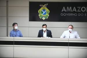 Ministro da Saúde ressalta compromisso com o Amazonas nas ações de combate à Covid-19
