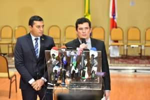 Moro conversa com Wilson Lima sobre combate ao tráfico na região