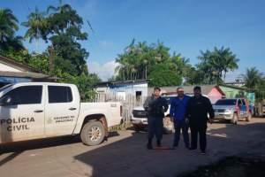 Operação da Polícia prende trio com drogas e armas