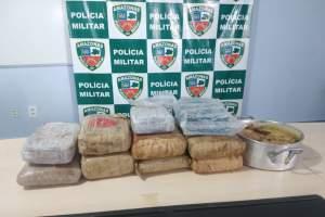 PM apreende drogas em embarcação no Porto de Manaus