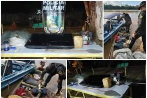 PM de Pauini realiza a Operação Onça e recupera material furtado