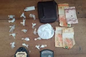 PM detém dupla por tráfico de entorpecentes durante operação em Presidente Figueiredo