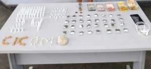 PM detém homem com grande quantidade de drogas e dinheiro no Centro