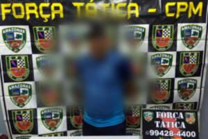 PM detem suspeitos de roubo com celulares em Manaus