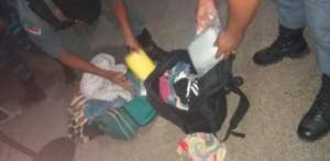 PM deteve mulher com entorpecentes no município de Jutaí