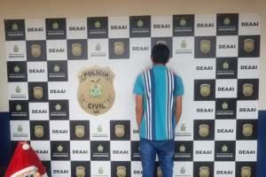 Polícia apreende jovem por roubo majorado em 2018