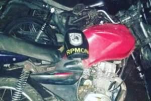Polícia apreende motocicleta adulterada e com restrição de roubo no Viver Melhor 2
