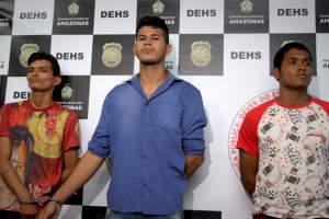 Polícia autua trio em flagrante pela autoria de latrocínio de jovem no bairro Centro