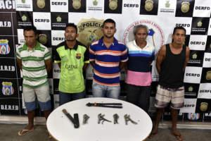 Polícia Civil prende grupo por furto a empresa no Distrito