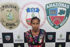 Polícia Civil prende jovem envolvida em tentativa de latrocínio em Manacapuru