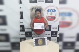 Polícia Civil prende mulher com drogas no bairro Novo Aleixo