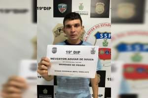 Polícia cumpre mandado de prisão no Nova Esperança