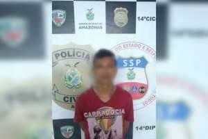 Polícia detém foragido de justiça no Jorge Teixeira