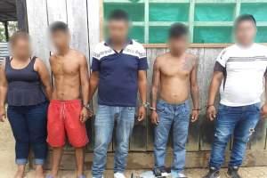 Polícia detém grupo de infratores por assaltos escondidos em Tabatinga