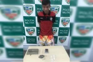 Polícia detêm homem com drogas na Comunidade da Sharp