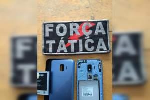Polícia Militar apreende adolescente com celular roubado