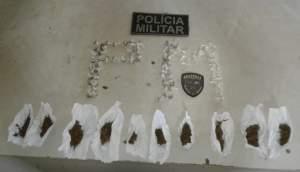 Polícia Militar apreende drogas no município de Maués
