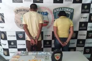 Polícia Militar detém dois homens suspeitos de tráfico no Bariri
