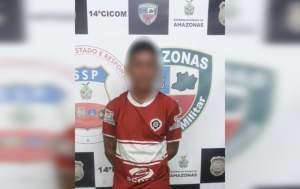Polícia Militar detém homem com tornozeleira eletrônica suspeito de tentativa de furto