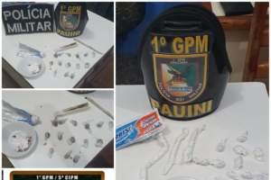 Polícia Militar detém mulher por tráfico de drogas em Pauini