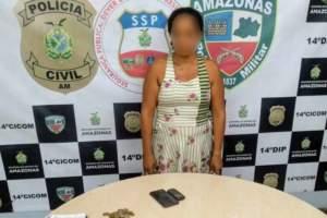 Polícia Militar detém mulher suspeita de tráfico no João Paulo